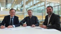 Aa and Maas Water Board, BWA and KWR sign partnership agreement on finescreen technology