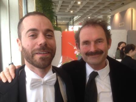 vlnr.: Andreas Antoniou en Pieter Stuyfzand
