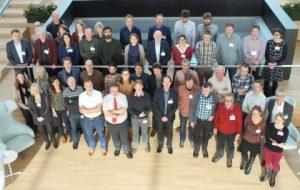 Foto: De deelnemers aan het OperAqua-symposium