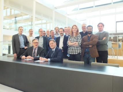 TU Delft en KWR versterken samenwerking2