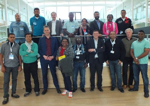 Surinaamse MBA-studenten op bezoek bij Reststoffenunie en KWR