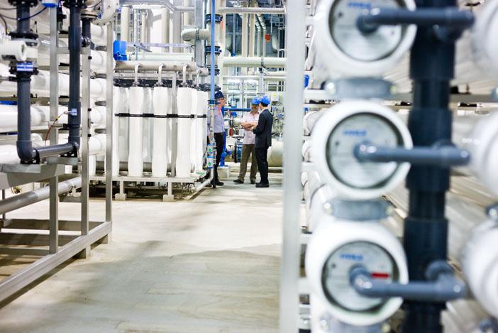 Membraaninstallatie voor waterhergebruik
