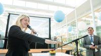 Minister Schulz van Haegen opens new KWR building