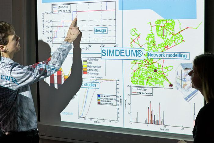 De Water-Use Info-tool van KWR legt een solide kennisbasis onder het ontwerp en de bedrijfsvoering van leidingwaterinstallaties en distributienetwerken.
