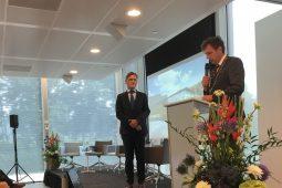 Wim van Vierssen Ridder in de Orde van de Nederlandse Leeuw