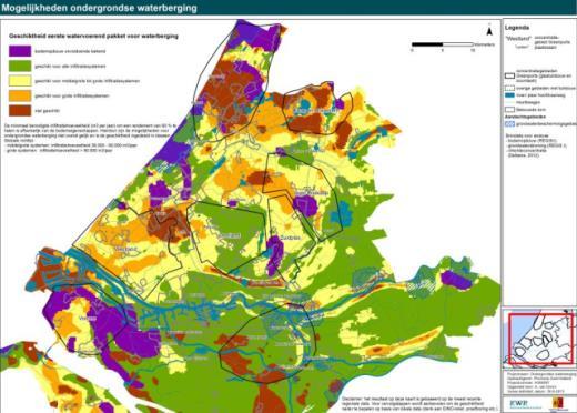 Zoet in zout- Geschiktheidskaarten Zuid-Holland2