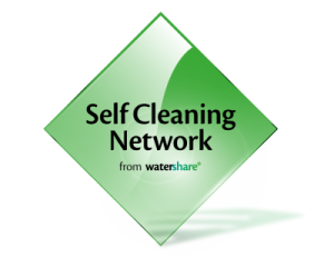 Self-Cleaning Networks