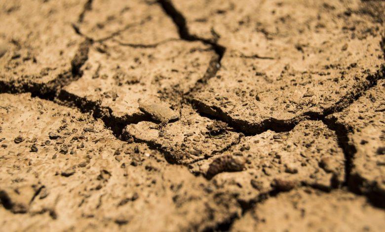 Extreme droogte in Zuid-Europese landen.
