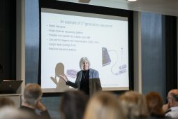 Joan Rose lectures at KWR on the importance of genomics for the water sector