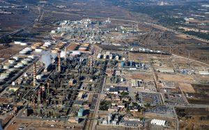 De demonstratielocatie van DOW (ChemMed Tarragona, Spanje). ChemMed Tarragona is een industrieel, logistiek, academisch en wetenschappelijk chemisch cluster gelegen in het grotere gebied Tarragona in het noordoosten van Spanje. (Bron: Website REWATCH)