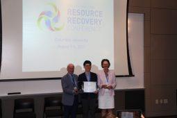 Koreaans consortium wint IWA Award voor Best Practices on Resource Recovery