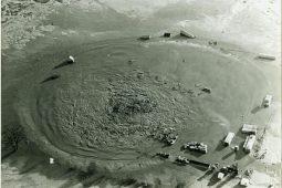 Nog steeds lekt aardgas naar grondwater door blow-out in 1965