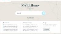 Ruim 2300 publicaties online beschikbaar bij KWR