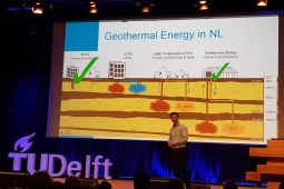 Large scale subsurface heat storage is complementary to geothermal energy