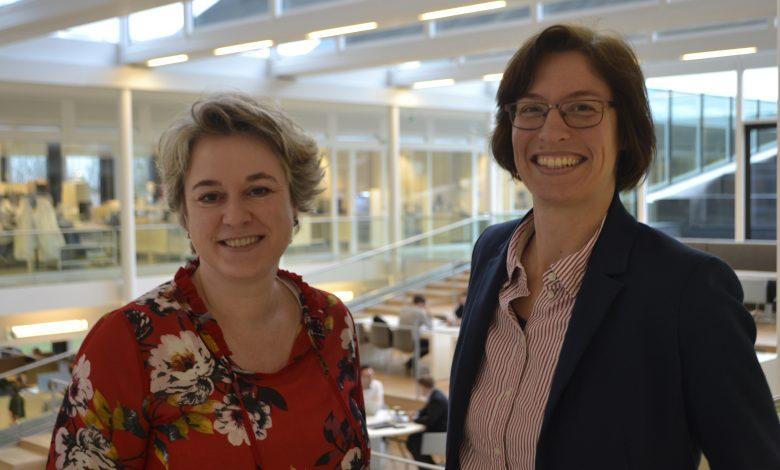 Anne Mathilde Hummelen (links) en Jantienne van der Meij-Kranendonk (rechts)