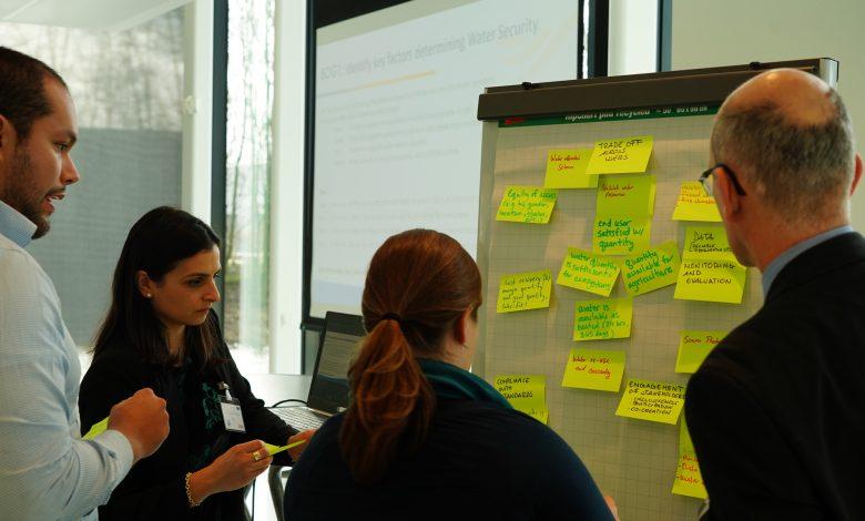 Uitwisseling van ervaringen en ideeën tijdens de interactieve middagsessie
