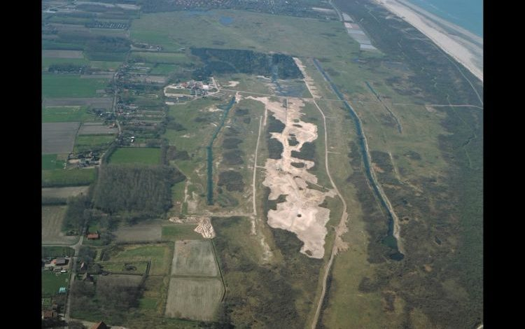 Middel- en Oosterduinen during the restoration in 2000