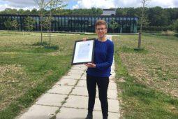 Margo van der Kooi wins 2019 Willem Koerselman Award
