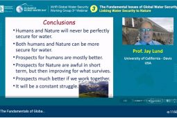 Linking Water Security to Nature – a technological perspective