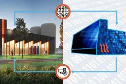 KWR en Warmtestad ontwikkelen digital twin voor duurzame warmtecentrale